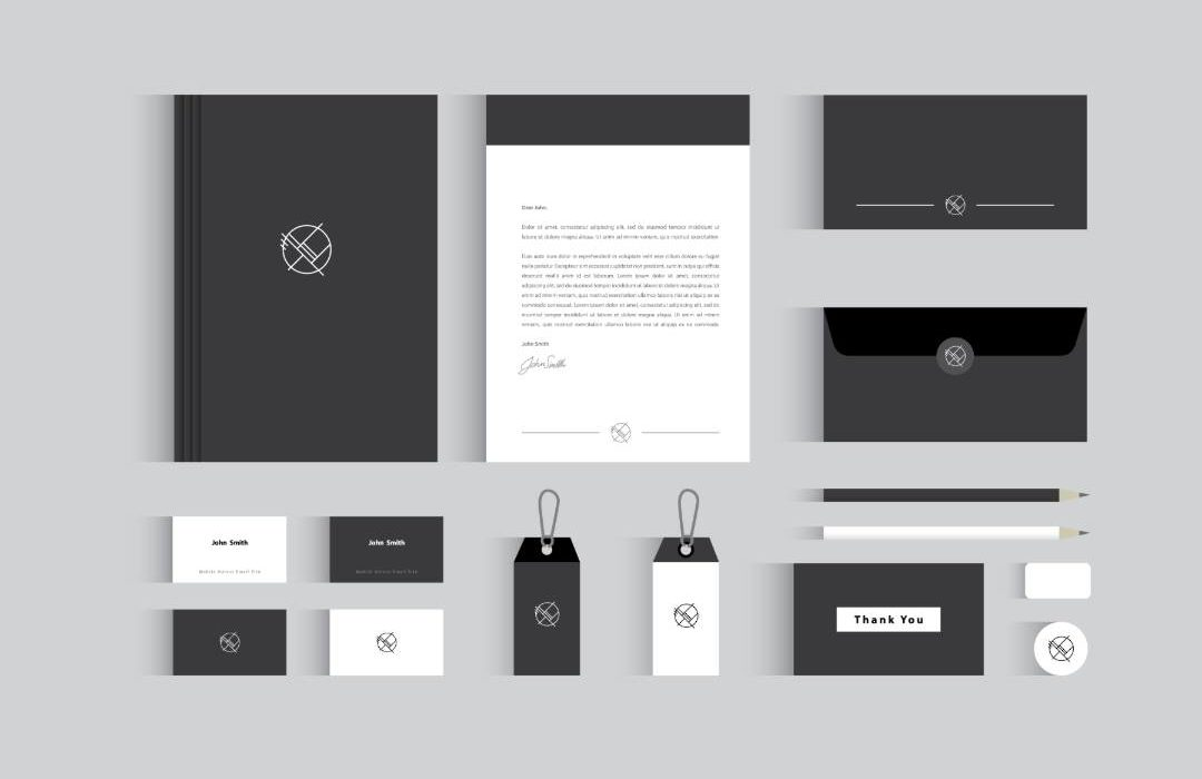 Business stationary set
