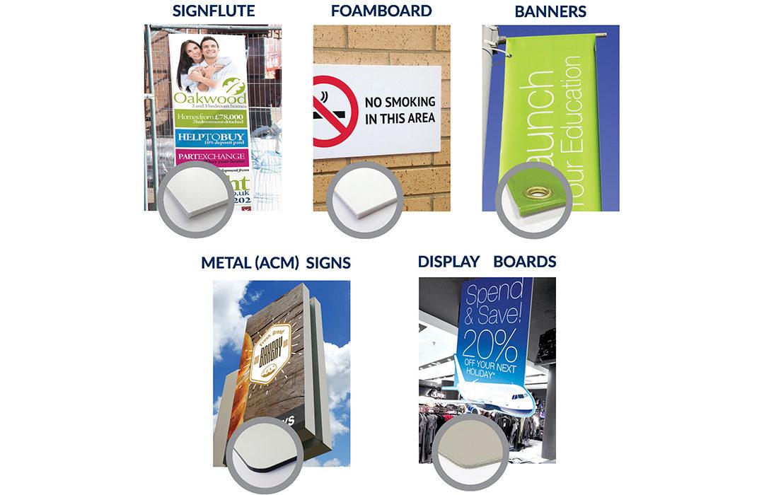 mounted signage